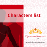 Remarried empress characters and Spoilers