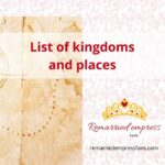 List of Countries, Empires and Places