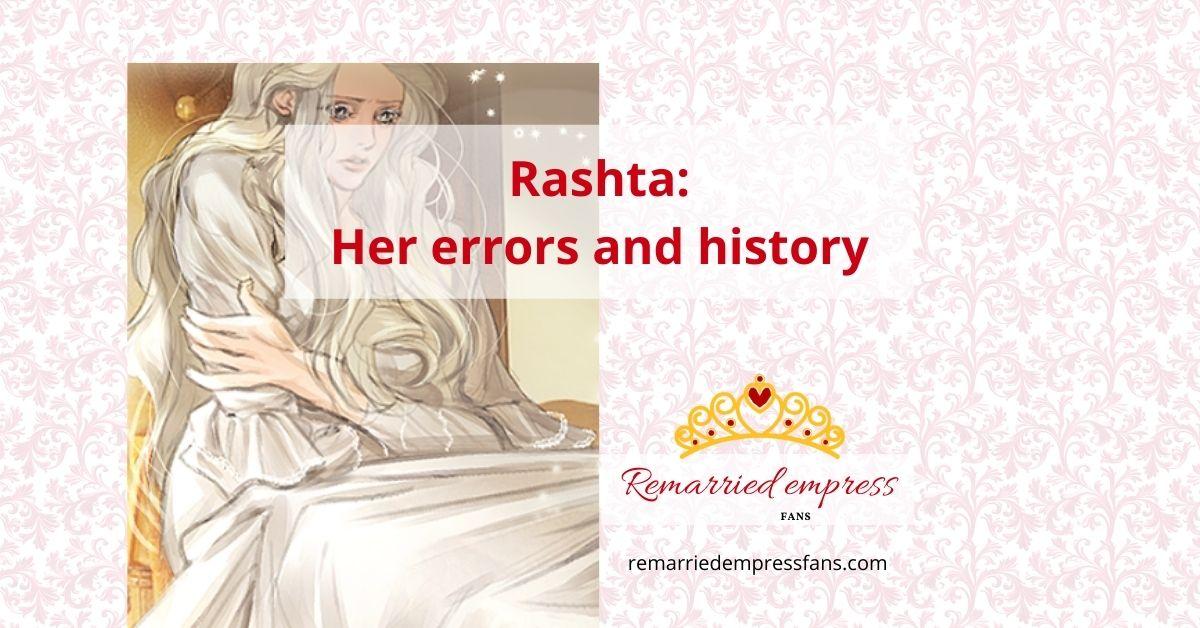 Rashta in remarried empress Trashta the slave
